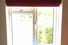 Fitting of pleated blind