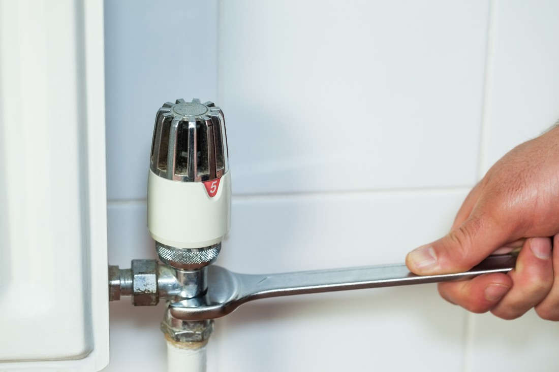 plumbing services bromley image of TRV valve