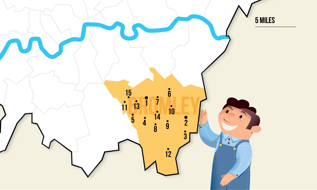 handyman service area map