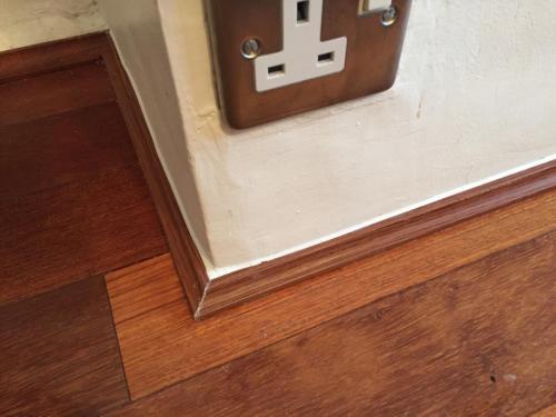 Flooring quadrant