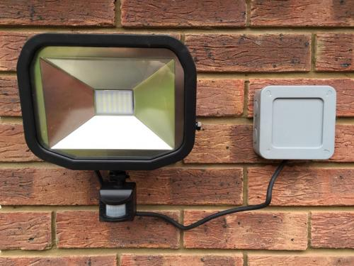 LED 30W PIR security light